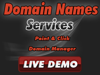 Half-priced domain name registration services